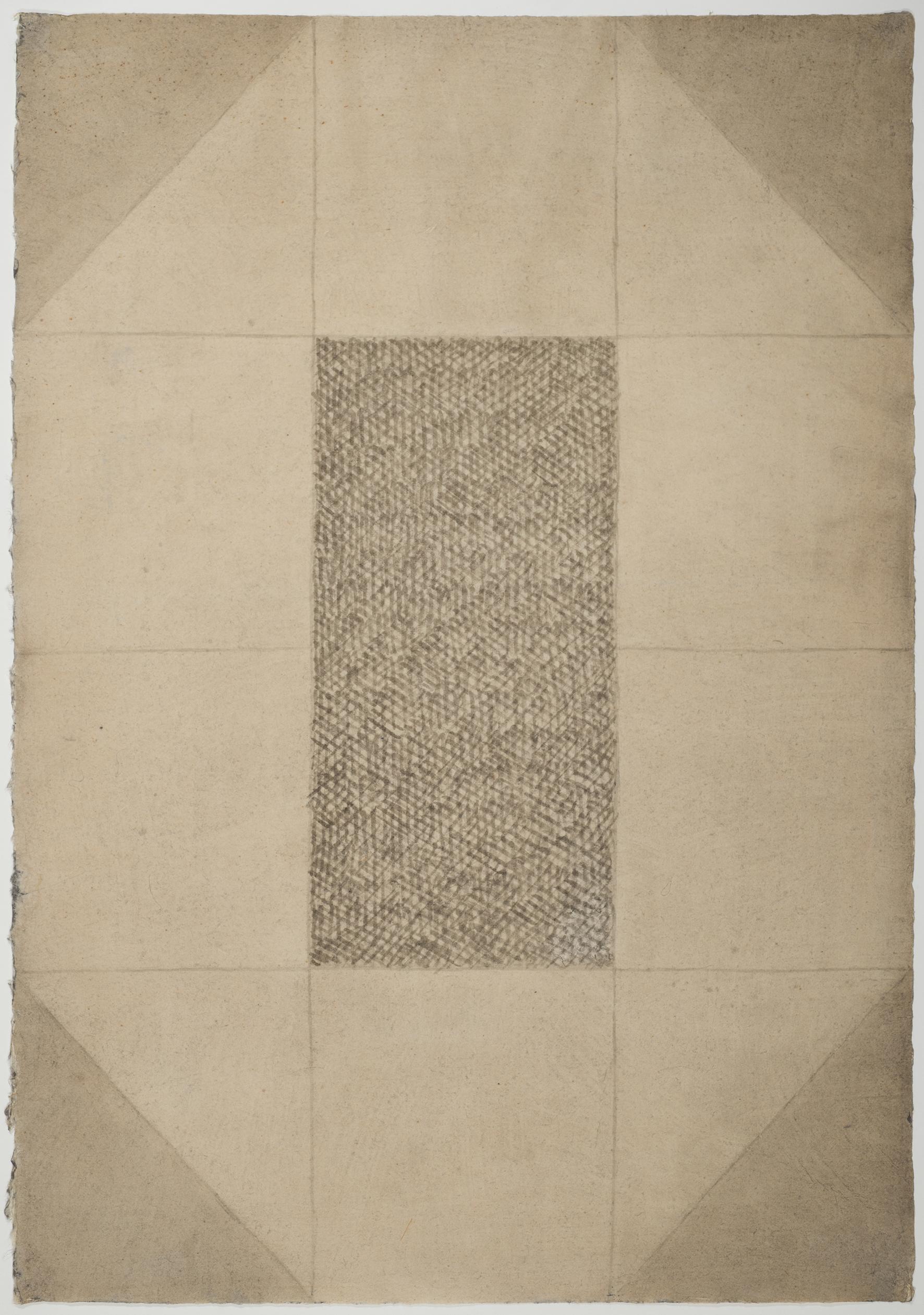 Dan Van Severen Encre et lavis d'encre sur papier , 105 x 75 cm, 1981 - 86-klein